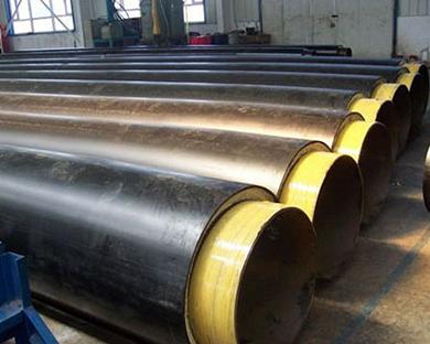 预制直埋式保温钢管
