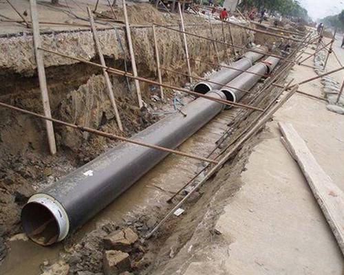 巴彦淖尔市五原工业园区热力管网蒸汽供热工程